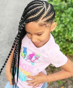 Kiddies Stylish Cornrows