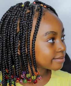 kiddies box braids